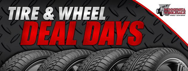 Tire & Wheel Deal Days