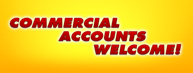 Commercial Accounts Welcome