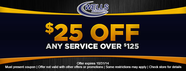 $25 OFF Any Service Over $125