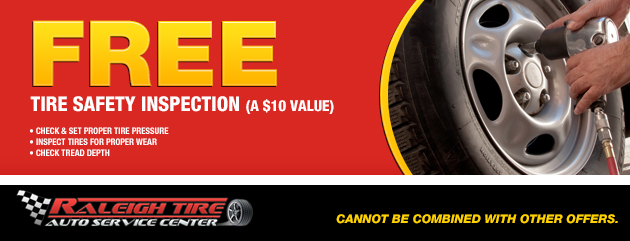 FREE Tire Safety Inspection