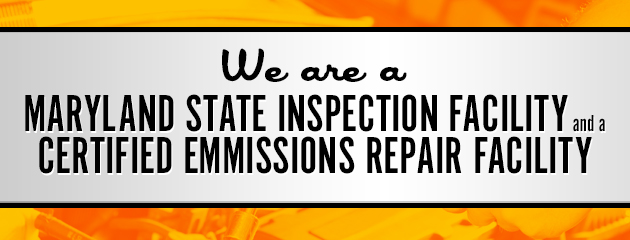 Maryland State Inspection & Certified Emmissions Repair Facility