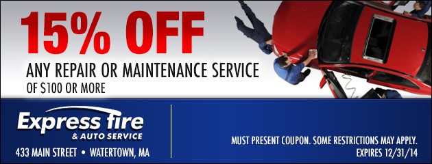 15% OFF Service
