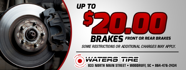 Up to $20 Off Brakes