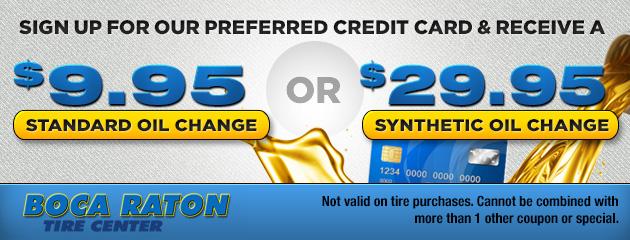 Preferred Credit Card Special