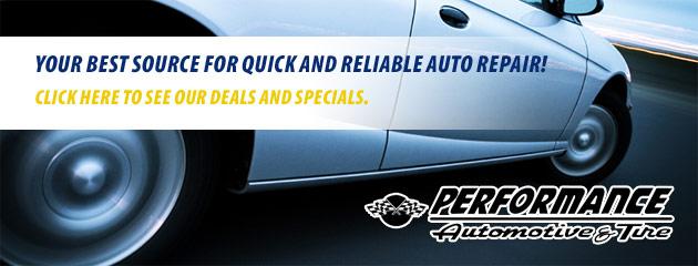 Performance Automotive and Tire Savings