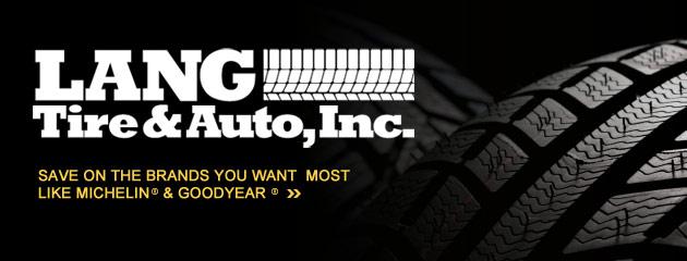 Lang Tire & Auto Inc Savings