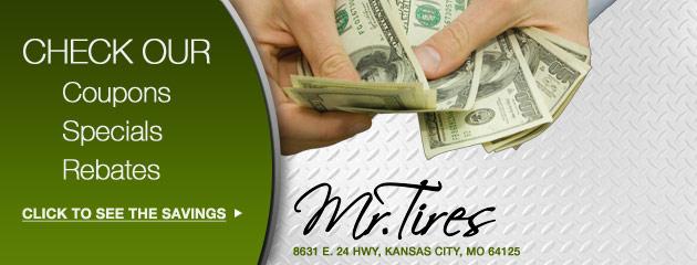 Mr Tires Savings