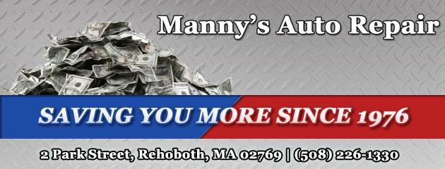 Mannys Auto Repair Savings