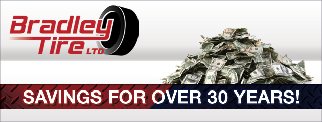Bradley Tire LTD Savings