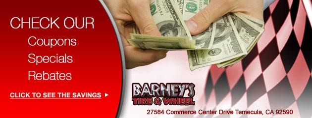 Barneys Tire & Wheel Savings