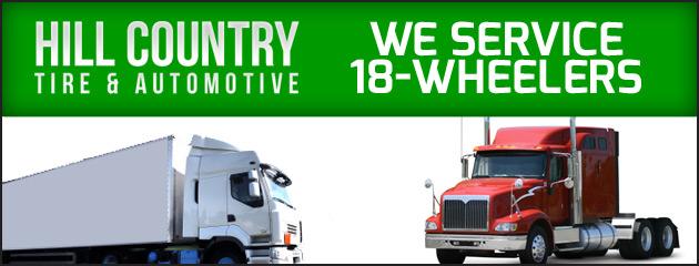 We Service 18 Wheelers