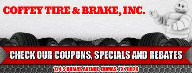 Coffey Tire & Brake Inc Savings