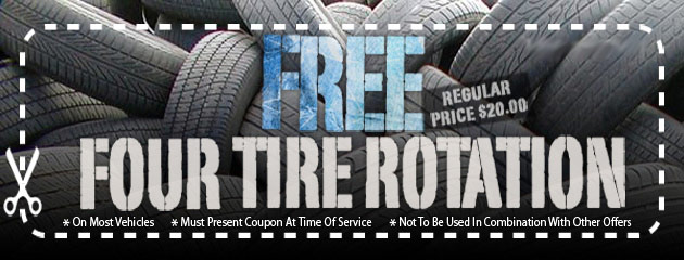 FREE Four Tire Rotation