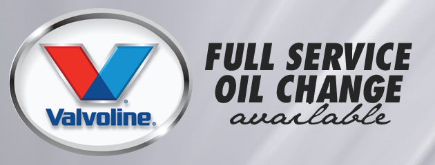 Full Service Oil Change Available