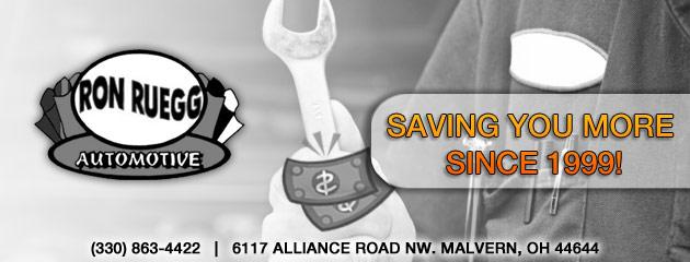 Ron Ruegg Automotive Savings