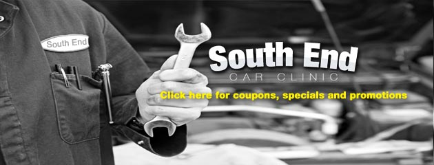 Save more at South End Car Clinic