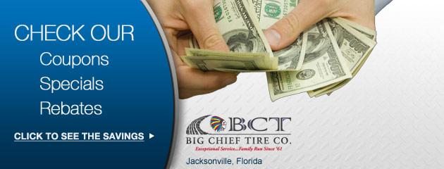 Big Chieft Tire Co Savings