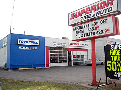 Superior Tire & Auto - TEMPORARY CLOSED